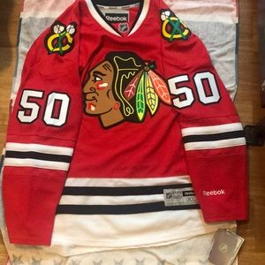 Chicago Black Hawks Crawford signed Jersey